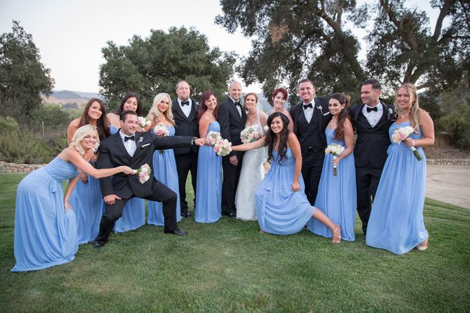 Elegant Wedding at Sunstone winery and vineyard in Santa Barbara wine region by Kiel Rucker Photography - 046