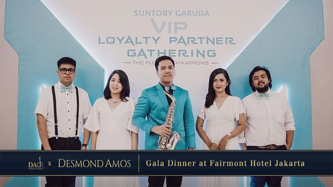 Desmond Amos Entertainment for Suntory Garuda Gala Dinner by Desmond Amos Entertainment - 001
