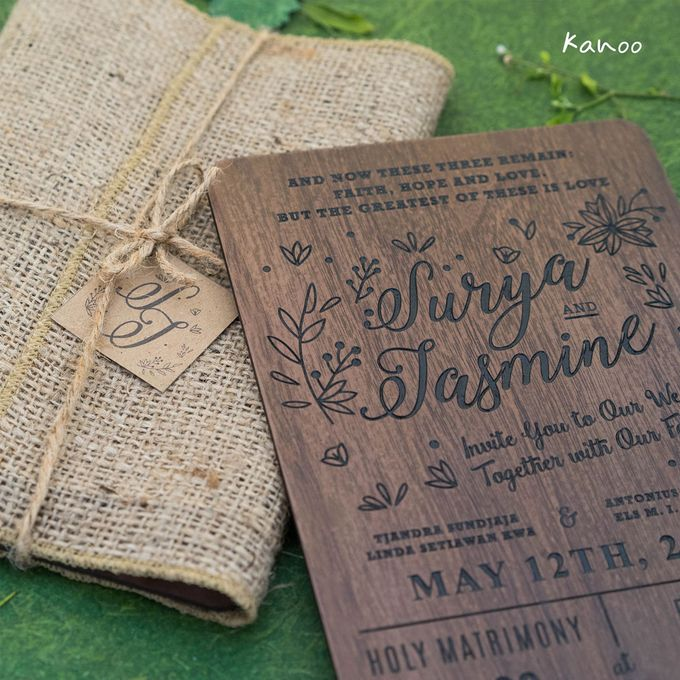 Wedding Invitation - Woody by Kanoo Paper & Gift - 002
