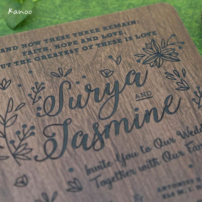 Wedding Invitation - Woody by Kanoo Paper & Gift - 003