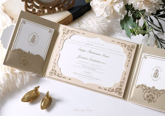 FOR ALL ETERNITY by BloomingDays Invitation Studio - 001