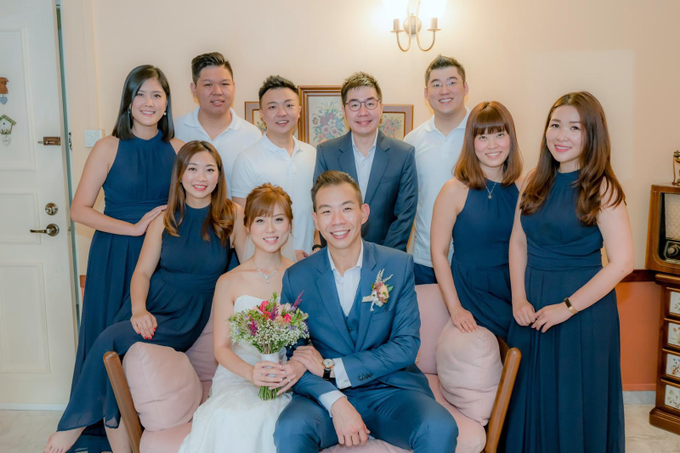Actual Day Wedding of Terrence & Felicia 27.10.18 by Susan Beauty Artistry - 007