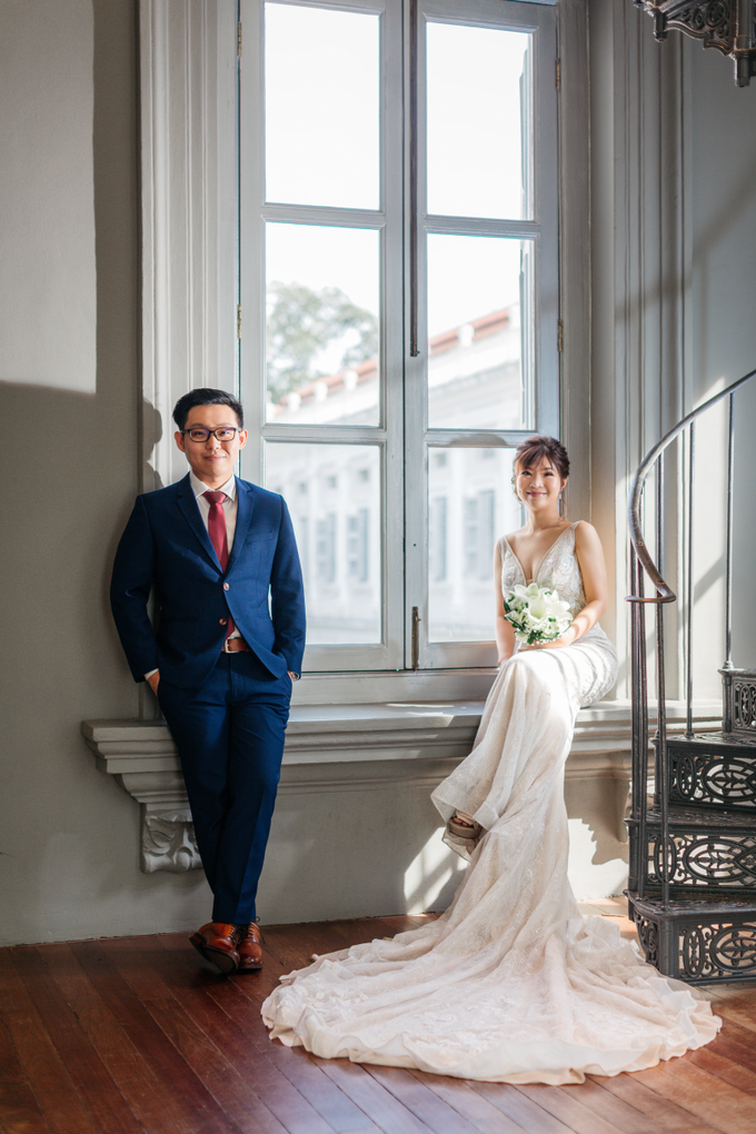 SG Pre-Wedding Photography of Evans & Jasmine  by Susan Beauty Artistry - 001