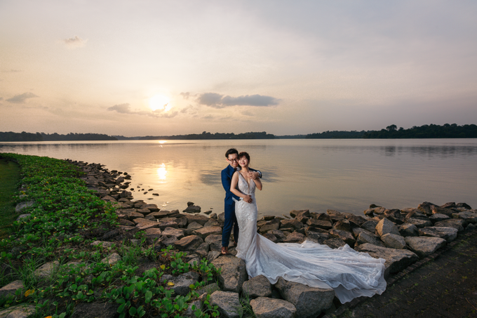 SG Pre-Wedding Photography of Evans & Jasmine  by Susan Beauty Artistry - 008