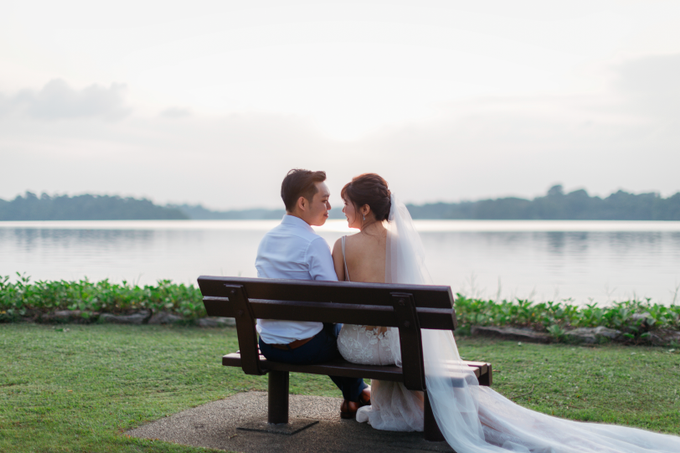 SG Pre-Wedding Photography of Evans & Jasmine  by Susan Beauty Artistry - 009