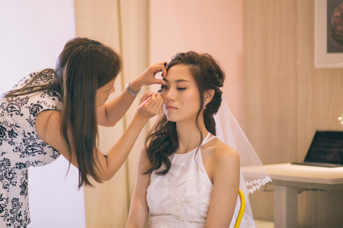 Holy Matrimony of Chia Hong and Lee Ying  by Susan Beauty Artistry - 004