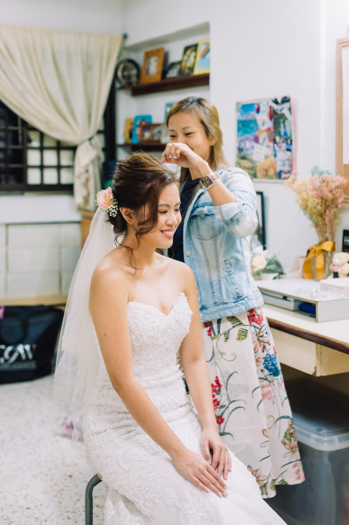Actual Day Wedding of Stevie and Clarie by Susan Beauty Artistry - 005
