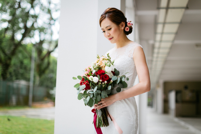 Actual Day Wedding of QB and Cherie by Susan Beauty Artistry - 010
