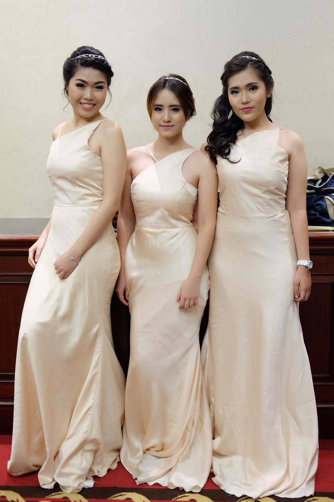 Bridesmaids Makeup  by The Ritz-Carlton Jakarta, Mega Kuningan - 012