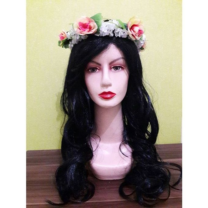 Flower Crown / Bando Bunga / Mahkota Bunga by Estrella Flower Crown - 037