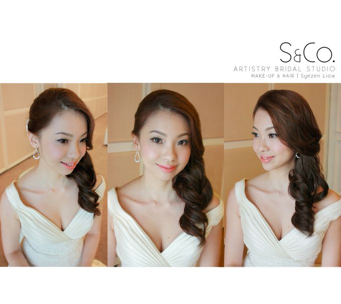 Actual Day Bridal Makeup by S & Co. Artistry Bridal Makeup Studio - 001