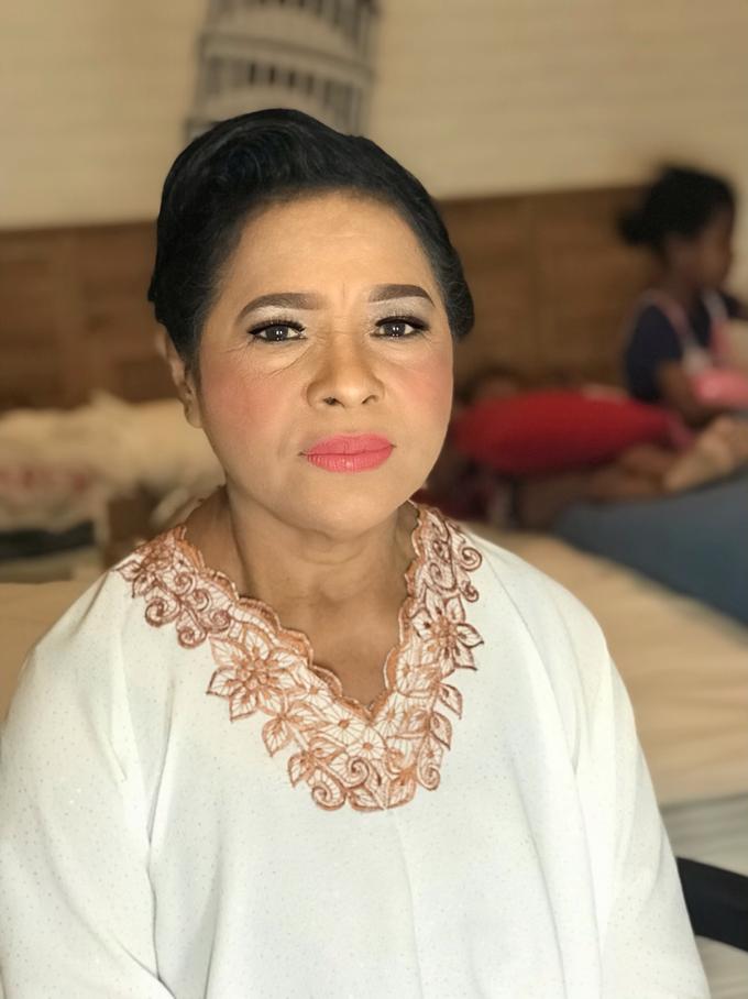 Makeup n hair do for mom of groom by Sweetie bridal - 001