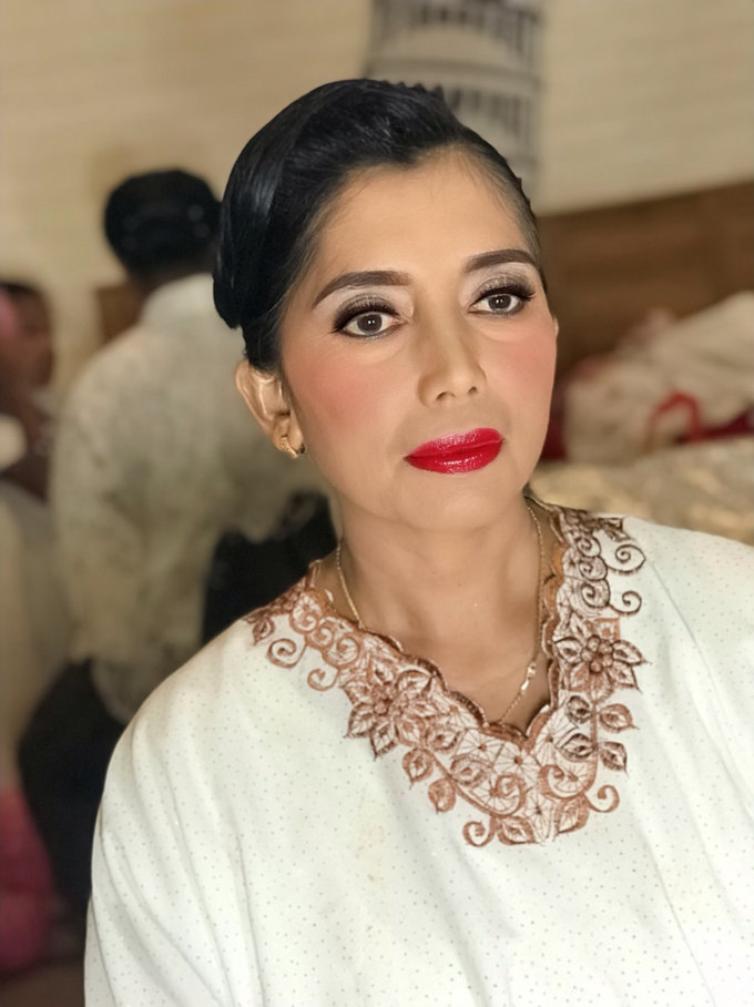 Makeup n hair do for mom of the Bride  by Sweetie bridal - 001