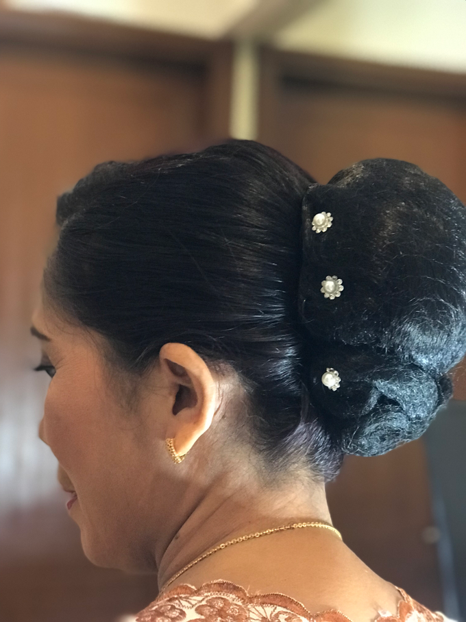 Makeup n hair do for mom of the Bride  by Sweetie bridal - 003