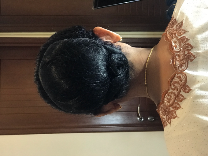 Makeup n hair do for mom of the Bride  by Sweetie bridal - 004