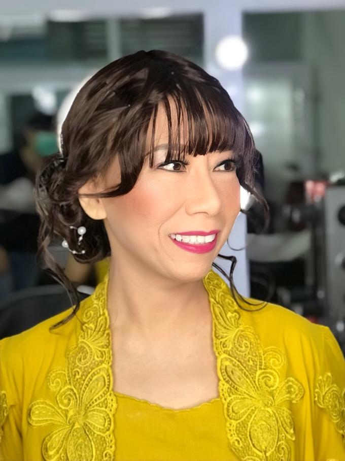 Makeup n hair do wig  by Sweetie bridal - 002