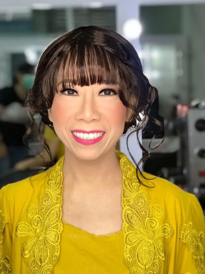 Makeup n hair do wig  by Sweetie bridal - 001