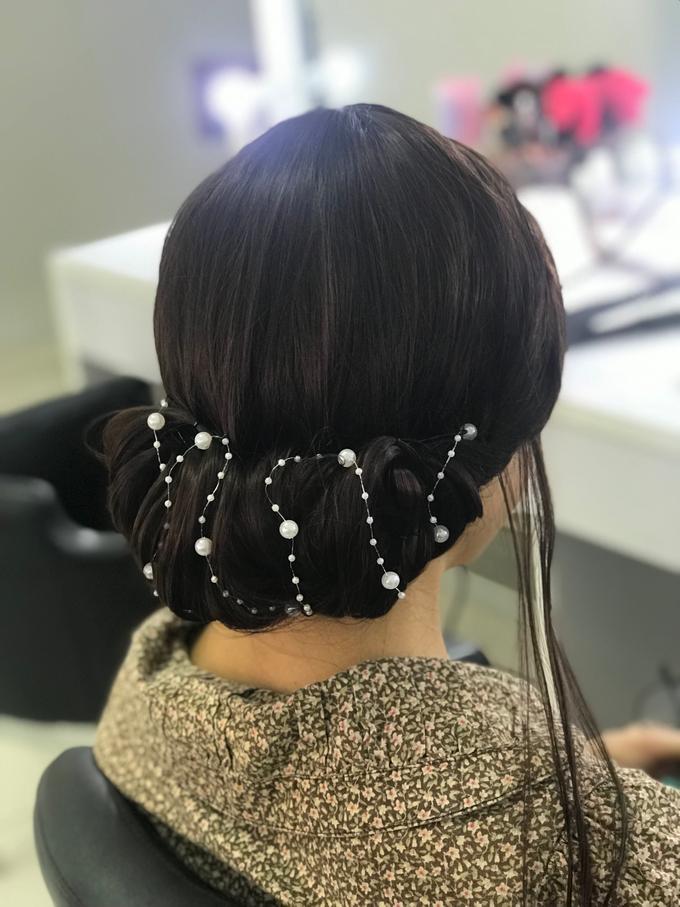 Makeup n hair do wig  by Sweetie bridal - 003