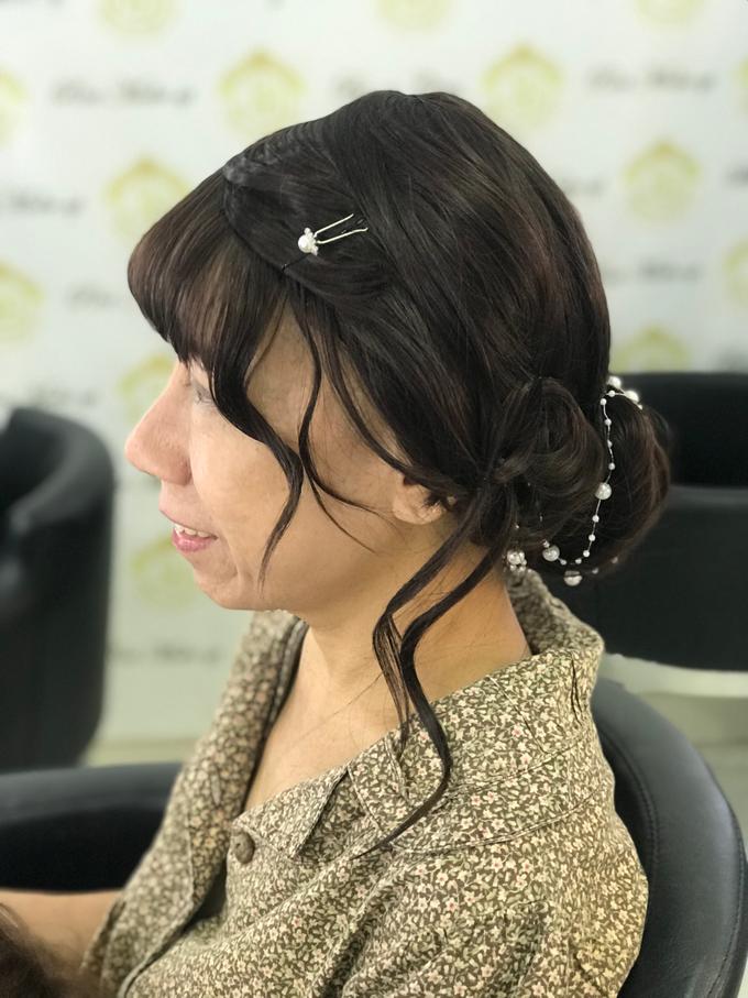 Makeup n hair do wig  by Sweetie bridal - 005