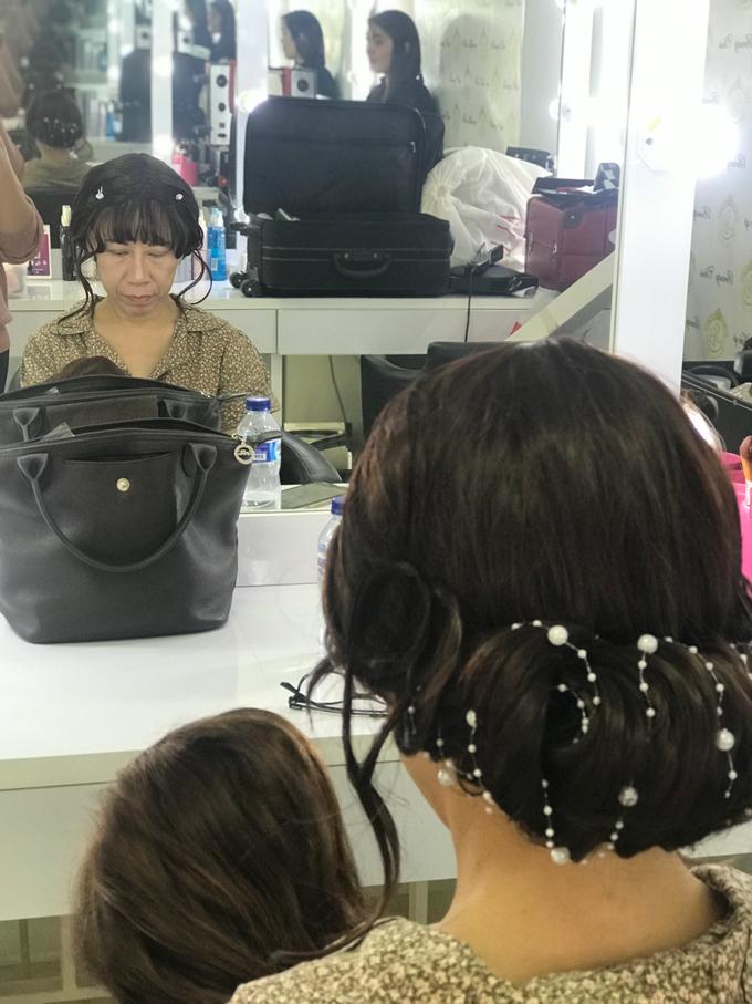 Makeup n hair do wig  by Sweetie bridal - 004
