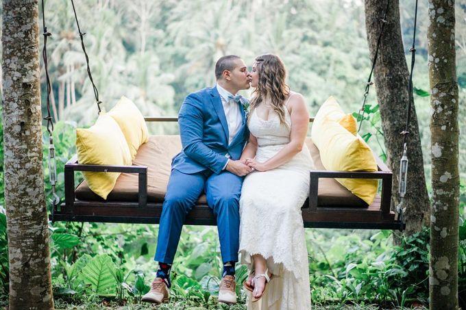 INTIMATE FOREST WEDDING - LAUREN & KAREEM by Kamandalu Ubud - 009