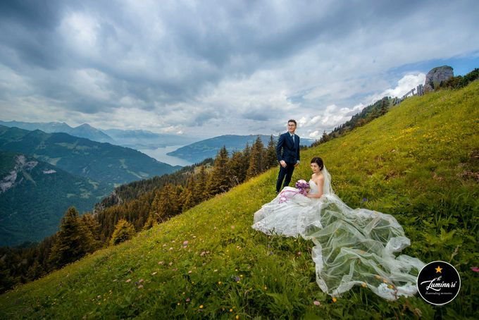 Switzerland Wedding Photography by The Luminari - 023