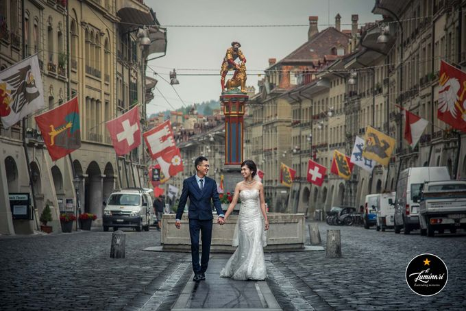 Switzerland Wedding Photography by The Luminari - 029