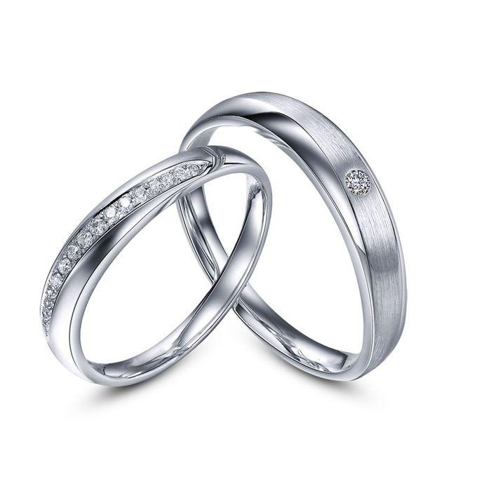 Tiaria Sworn and Oath Diamond Ring Perhiasan Cincin Pernikahan Emas dan Berlian by TIARIA - 003