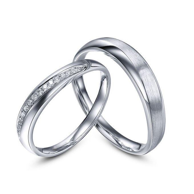 Tiaria Sworn and Oath Diamond Ring Perhiasan Cincin Pernikahan Emas dan Berlian by TIARIA - 001