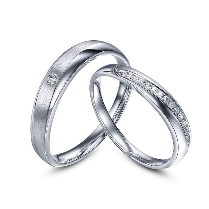 Tiaria Sworn and Oath Diamond Ring Perhiasan Cincin Pernikahan Emas dan Berlian by TIARIA - 002