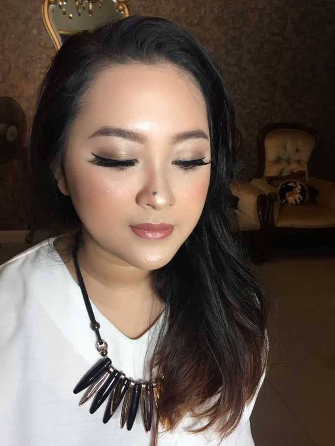 Private Makeup Class for Evien by Ira Makeup Artist - 003