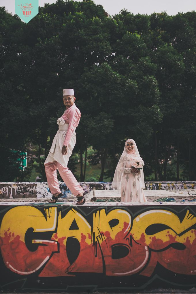 Syamil & Rasyidah by The Vanilla Project - 011