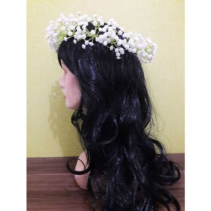 Flower Crown / Bando Bunga / Mahkota Bunga by Estrella Flower Crown - 031