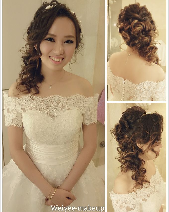 Bridal Makeup &hairstyling by Weiyee-makeup - 002