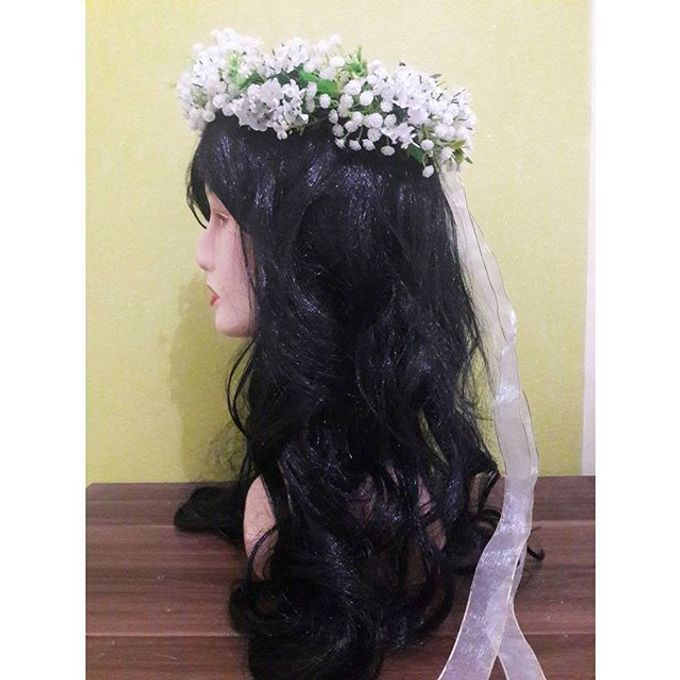 Flower Crown / Bando Bunga / Mahkota Bunga by Estrella Flower Crown - 013