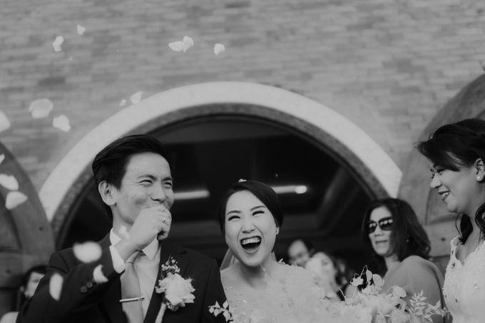 Catholic Wedding Ceremony of Tommy & Imelda by Vilia Wedding Planner - 014