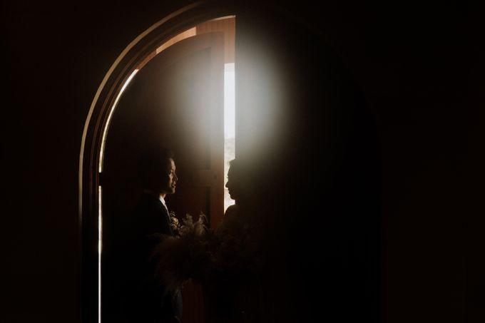 Catholic Wedding Ceremony of Tommy & Imelda by Vilia Wedding Planner - 017