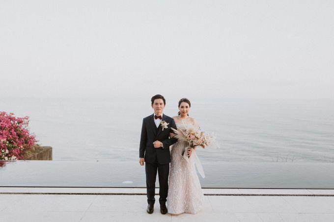 Cliffside Wedding Reception of Tommy & Imelda by Vilia Wedding Planner - 002