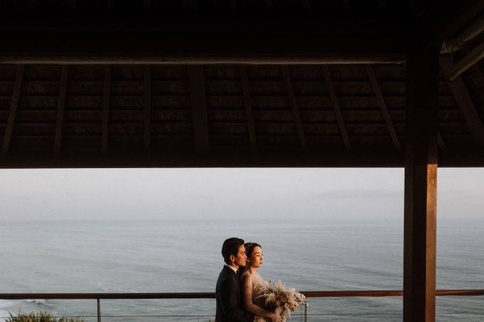 Cliffside Wedding Reception of Tommy & Imelda by Vilia Wedding Planner - 003