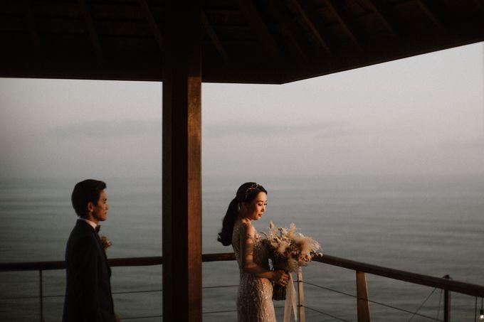 Cliffside Wedding Reception of Tommy & Imelda by Vilia Wedding Planner - 004