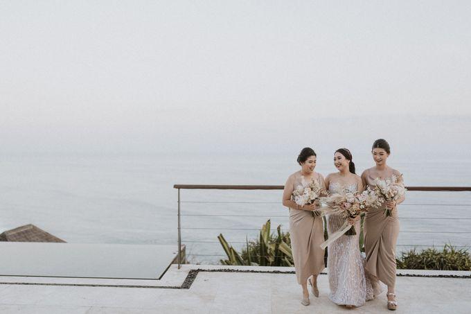 Cliffside Wedding Reception of Tommy & Imelda by Vilia Wedding Planner - 005