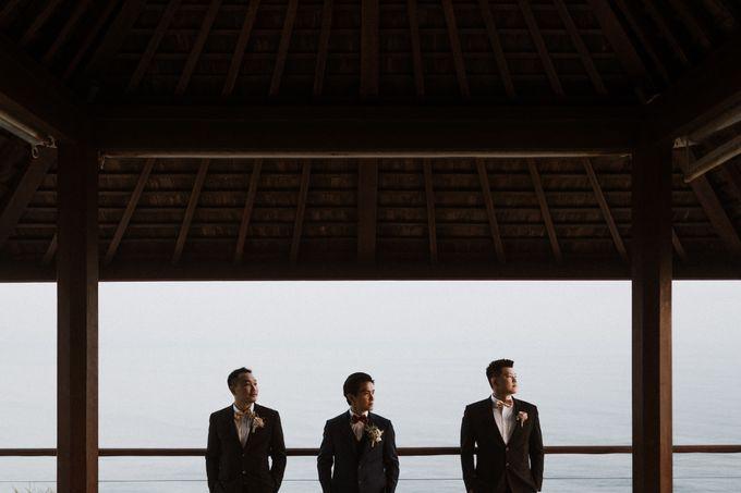 Cliffside Wedding Reception of Tommy & Imelda by Vilia Wedding Planner - 006