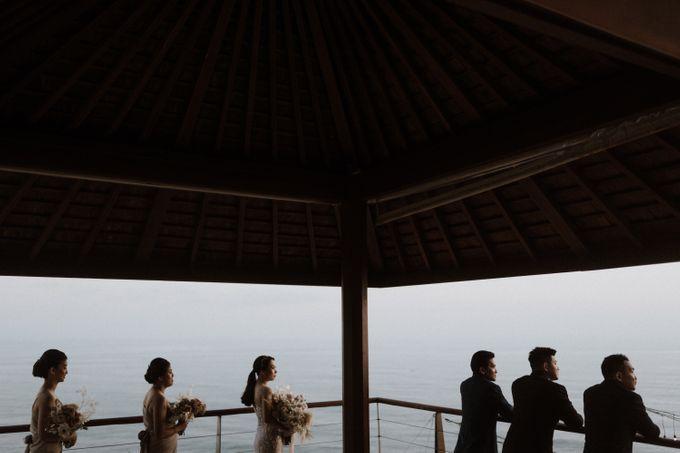 Cliffside Wedding Reception of Tommy & Imelda by Vilia Wedding Planner - 007