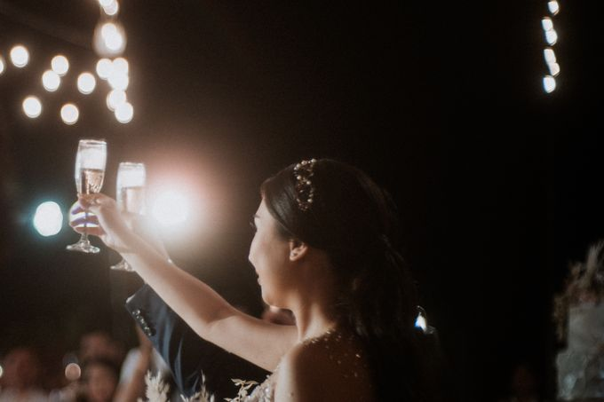 Cliffside Wedding Reception of Tommy & Imelda by Vilia Wedding Planner - 015