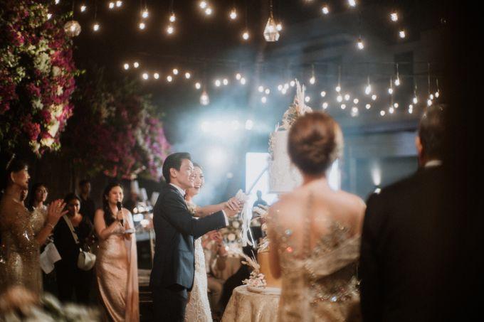 Cliffside Wedding Reception of Tommy & Imelda by Vilia Wedding Planner - 017