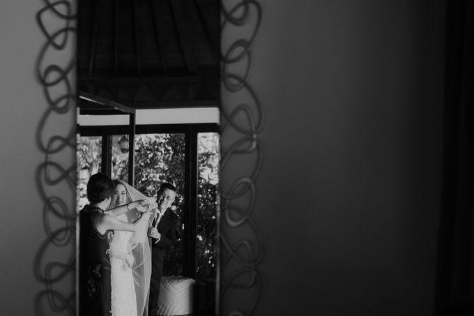 Catholic Wedding Ceremony of Tommy & Imelda by Vilia Wedding Planner - 001