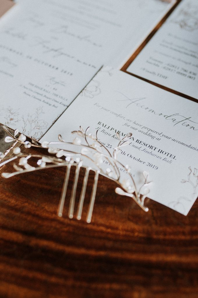 Wedding Favours and Gift from Tommy & Imelda Wedding by Vilia Wedding Planner - 002