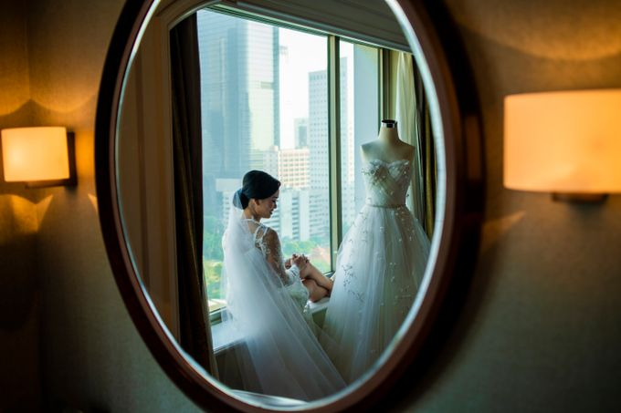 The Wedding of Arnold & Felicita by Shangri-La Hotel - 003