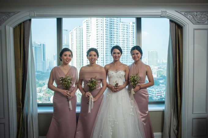 The Wedding of Arnold & Felicita by Shangri-La Hotel - 006