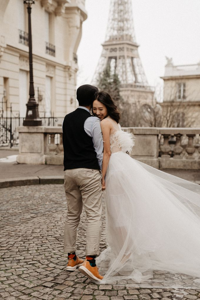 Pre-wedding in Paris by Through The Glass Paris - 022